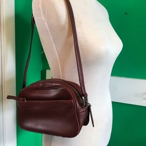 Vintage Coach Red Shoulder Bag